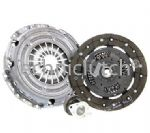 3 PIECE CLUTCH KIT INC BEARING 200MM VW POLO 1.4 16V 1.4 FSI 1.4